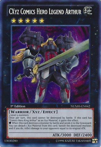 YU-GI-OH! - CXyz Comics Hero Legend Arthur (NUMH-EN042) -...