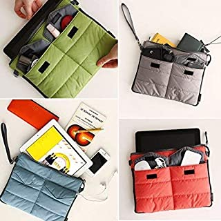 PHENOMENAL Polyester Portable Large Double Layer Travel Gear Organizer (Multicolour)