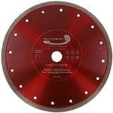 PRODIAMANT Disco de corte de diamante para azulejos y gres porcelánico, 230 x 22,23 mm, 230 mm, para amoladora angular