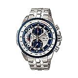 Casio EF-558D-2AVDF - Reloj (Reloj de pulsera, Acero inoxidable, Acero inoxidable, Acero inoxidable, Acero inoxidable, Mineral)