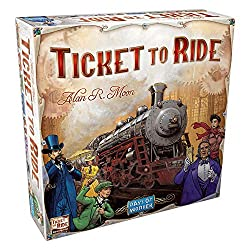 Ticket to Ride best board games for teens to adults.