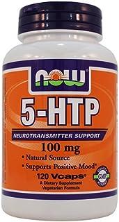 5-HTP 100mg 120 VegiCaps (Pack of 2)