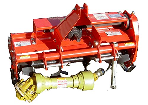 Great Features Of Value-Leader 37 Adjustable Offset 3pt Rotary Tiller FH-TL95 Cat.I 3pt 16+hp ~Slip...