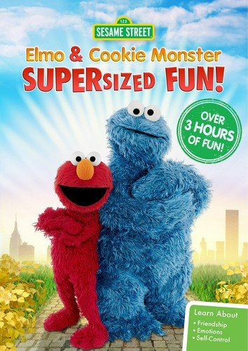 Sesame Street: Elmo & Cookie Monster Supersized Fun!