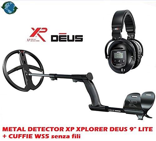 'Metal Detector XP Xplorer Deus 9Lite + auriculares WS5sin hilos