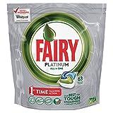 Fairy Platinum Original Cápsulas de Lavavajillas - 63 cápsulas para lavavajillas