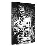 Fußball-Star Gareth Bale, Poster, Wandkunst, Bilder für