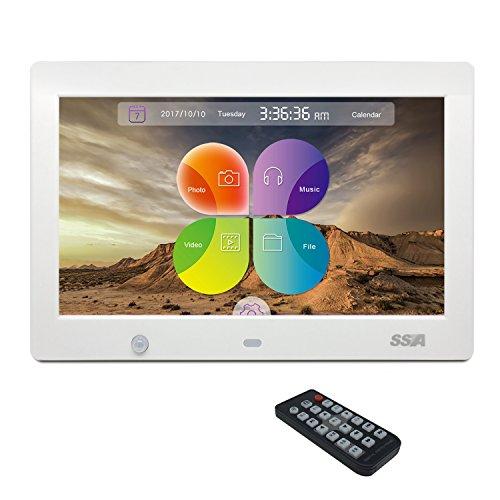 SSA 10.1' Cadres photo numérique HD Built-in...