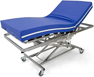 LTDM Cama Articulada Eléctrica Hospital con Carro Elevador + colchón Visco (90X190)