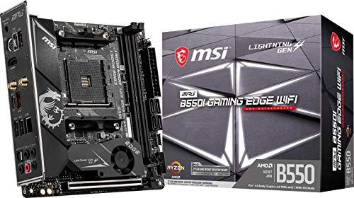 MSI MPG B550I Gaming Edge WiFi Gaming Motherboard