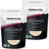 Terrasoul Superfoods Organic Coconut Flour, 4 Lbs - Gluten-Free | Unrefined | Fine Texture | Premium...