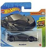 Hot-Wheels McLaren P1 (gris) 9/10 HW Exotics 2020 - 149/250 (tarjeta corta) GHF48