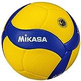 ミカサ(MIKASA) バレーボール 日本バレーボール協会検定球 4号(中学生・婦人用)黄/青 V400W