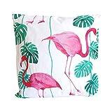 Outdoor Kissen ~ Flamingo ~ Dekokissen Zierkissen f draußen geeignet Haus Garten