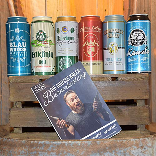 BeerTasting Probierset (6x 0,5l Dose) (Mit deutschen Bieren)