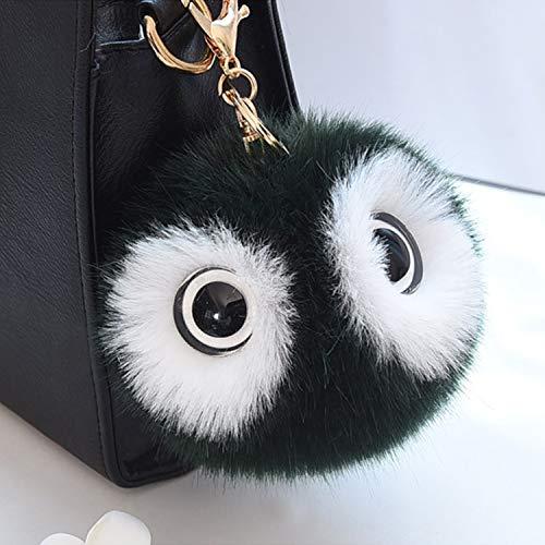 SMVISON Unisex Fashion Retro Metal Ox Head Keychain for Handbag Decoration