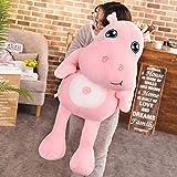 CPFYZH Cute Hippopotamus Plush Toy Plush Toy Hippo Doll Child Birthday Gift Child Sleeping Pillow-50Cm