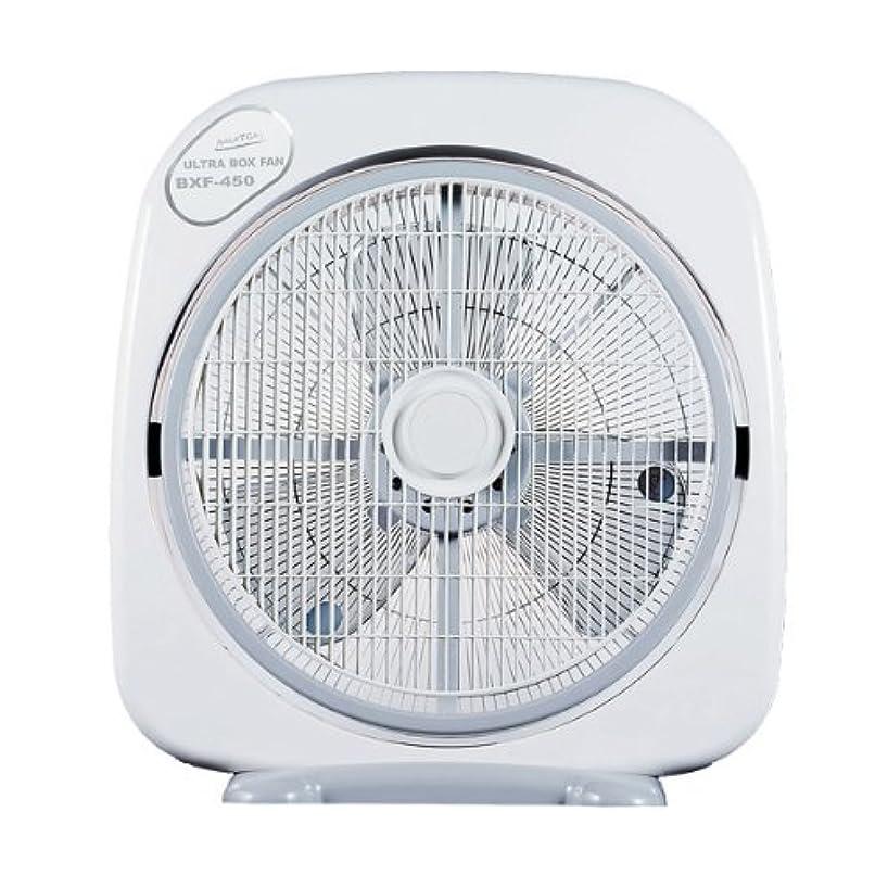 自宅で毎回シチリアナカトミ(NAKATOMI) 45cmウルトラボックス扇風機 タイマー付 BXF-450
