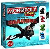 Dragons Jeu de société Monopoly Junior How to Train Monopoly