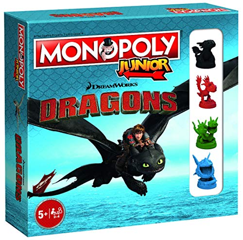 Dragons Monopoly Junior How to Train Monopoly-Brettspiel