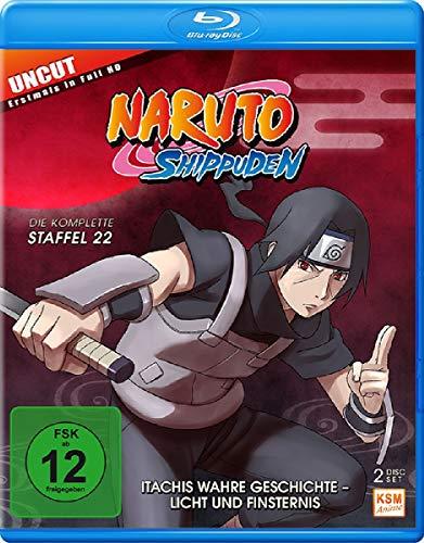 Naruto Shippuden - Staffel 22: Itachis wahre Geschichte - Licht und Finsternis (Folgen 671-678) [Blu-ray]