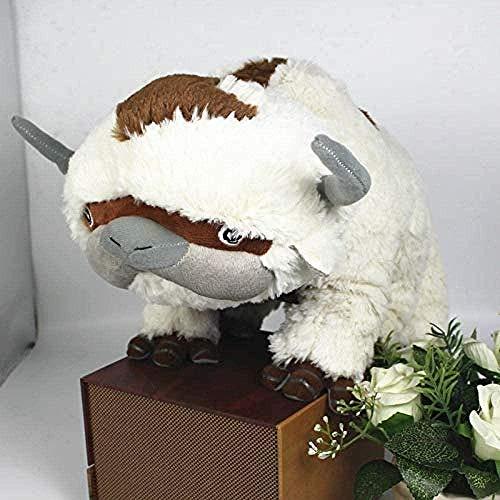 DTJY 50Cm Die letzte Airbender-Ressource Appa Avatar Kuscheltiere Puppe Kuscheltier Kuhspielzeug Geschenk Kawaii Plüschtier Einhornkissenspielzeug