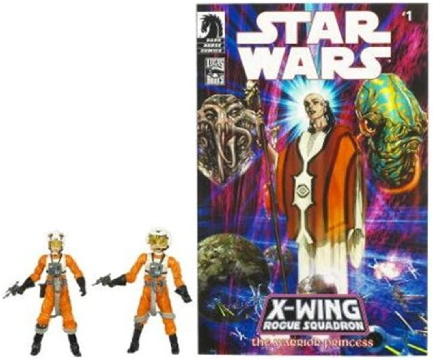 Exclusive Star Wars Action Figure Comic 2Pack  Dllr Nep & Plourr Ilo