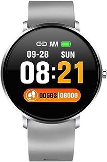 Pulsera actividad, reloj inteligente con podómetro con pantalla táctil delgada y pulseras, rastreador de actividad portátil como monitor de sueño con contador de pasos para niños, mujeres, hombres