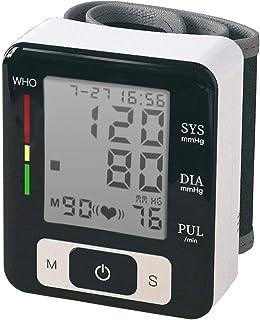Tensiómetro de Muñeca, TRUBUY Automático Monitor de Presión Arterial con Detección de Pulso Arrítmico, Pantalla Grande LCD, 2 * 90 Memorias