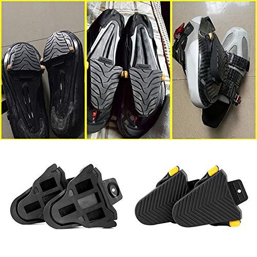 XQxiqi689sy Sport - 1 par de Protectores de Pedales de Bicicleta para Shimano SPD-SL