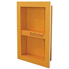 Can be installed in both Schluter-Kerdi and Schluter-Kerdi-Board wall assemblies Features a 1/2 in. thick x 2 in. wide integrated bonding flange Features a prefabricated Kerdi-Board shelf that can be installed at any height to create separate compart...