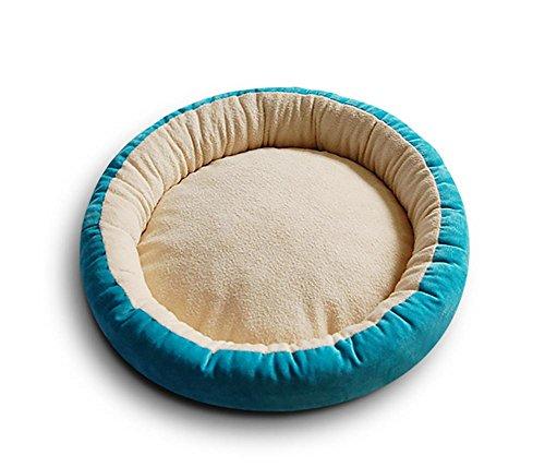 AnGe Hundebett Katzenbett,Waschbares Hundekörbchen, Hundebett in drei Größen verfügbar , blue , m