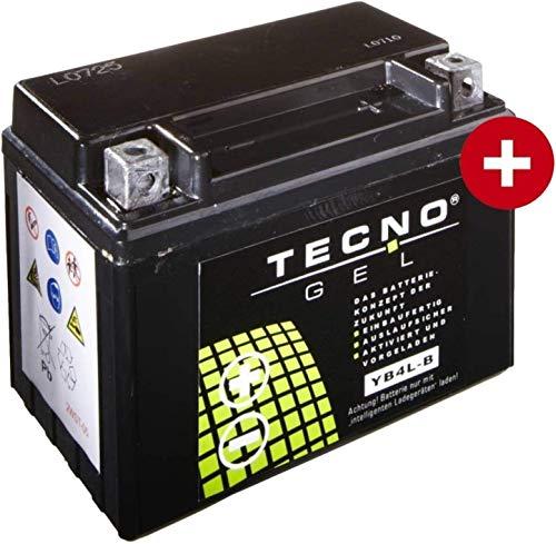 YB4L-B TECNO GEL-Batterie für Speedfight 3 50 AC DT Darkside Baujahr 2011-2015