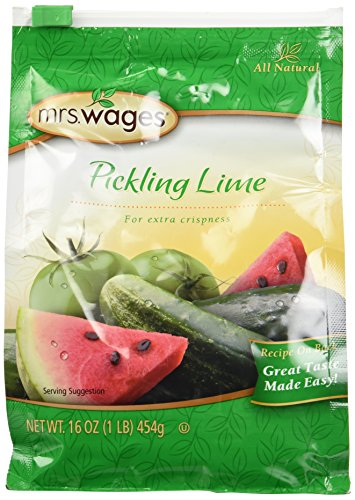 Mrs. Wages Pickling Lime 16 Oz