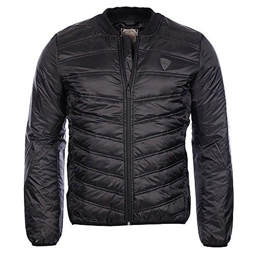 Kaporal Naza Blouson, Noir (Black), Medium (Taille Fabricant: M) Homme^Homme