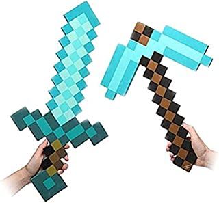 Amazon com: Minecraft Pickaxe - 1 Star & Up / Accessories