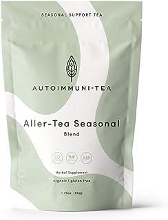 Autoimmune Tea Allergy & Sinus Seasonal Support Tea: Autoimmune Protocol blend for Autoimmune Diet; Allergy & Sinus Relief...