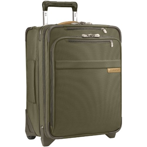 Briggs & Riley Baseline Commuter Expandable Upright, 50cm, 45.6 litres, Olive