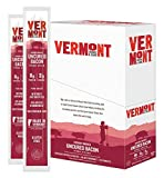 Vermont Smoke & Cure Meat Sticks - Antibiotic Free Pork Sticks - Gluten-Free Snack - Uncured Bacon -1oz Stick - 24 count (1 pack)