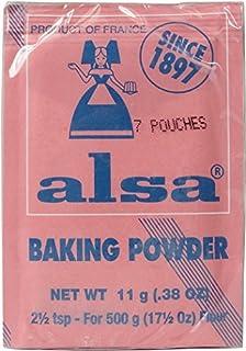Alsa - French Cake Baking Powder 7 sachets 7x0.38oz by Alsa