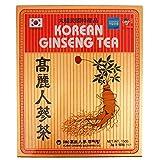 Authentic Korean Instant Ginseng Tea (50 Individual Sachets)