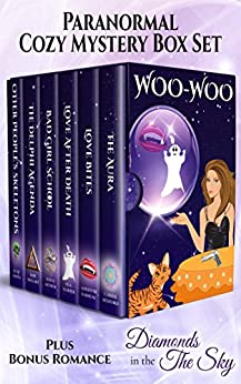 Woo Woo: Paranormal Cozies by [Carrie Bedford, Adrienne Barbeau, M.A. Harper, Red Q. Arthur, Rob Swigart, Julie Smith]