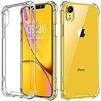 """Babacom Funda para iPhone XR, Transparente Carcasa para iPhone XR Absorcion de Choque Cojín de Esquina Parachoques con PC Duro Panel Posterior + Marco Reforzado de TPU Suave para iPhone XR 6.1"""" 2018"""