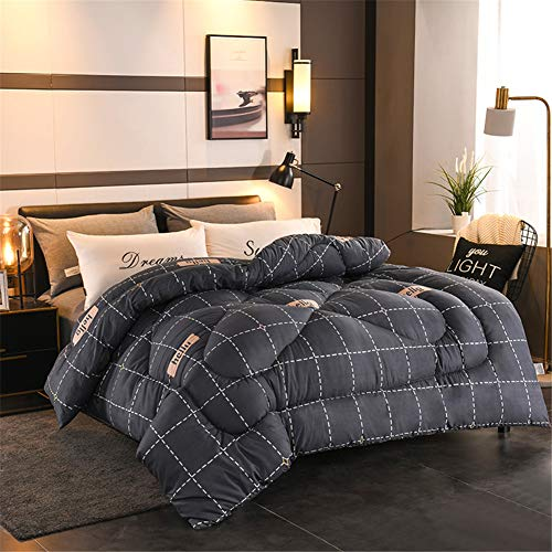 YFFS Duvet, Thick Duvet, Warm and Soft Microfiber Down, Suitable for All Seasons, Bedding, Keep Warm, Suitable for Families, Hotels (5,150 x 200 cm-1.5kg)