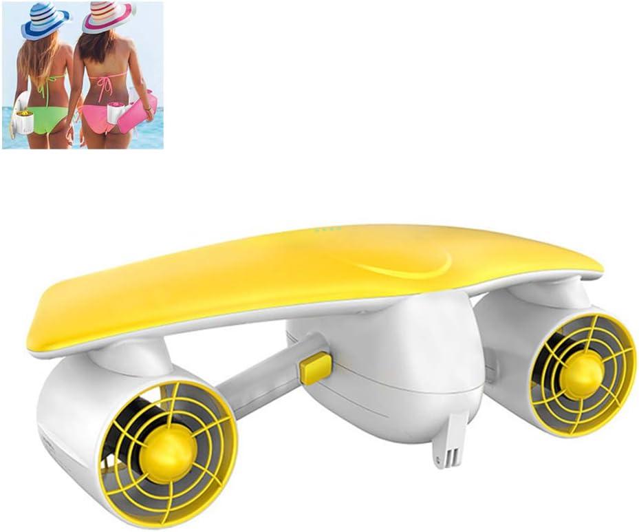 DIGUA Boosted Board Sea Scooter Underwater Scooter Water Scooter Kickboard Underwater Wing Thruster Adecuado para Adultos y niños, duración de la batería 60 Minutos de Regalo