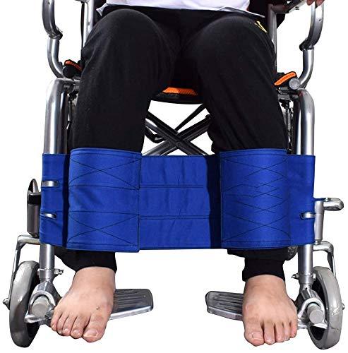 WXCCK Rollstuhl-Fußraste Leg Anschnallriemen, Multi-Funktions-Einstellbare Anti-Fall-Elderly Rückhaltegurt Für Prevent Fallen & Dumping