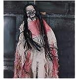 ハロウィーンハロウィーン頭蓋骨小さな音声起動センサー発光バー吊り幽霊お化け屋敷幽霊吊り休日の装飾の小道具 (Size : 1)