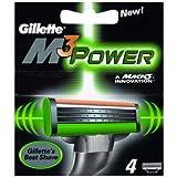 ジレット M3パワー 替刃 4枚