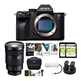 Sony Alpha a7R IV Mirrorless Digital Camera Body with 24-70mm f/2.8 G Lens and Software Suite Bundle (8 Items)