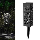 Lampe LED Solaire Jardin Lumière Extérieure,Covermason Lumières de paysage/chemin de base de Lumières solaires imperméables pour le patio, pelouse, yard, allée